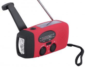 Radio de dinamo e energia solar