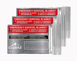 Manta de emergência (3 unidades)